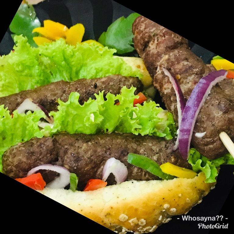 Whosayna's Seekh Kebabs Rolls