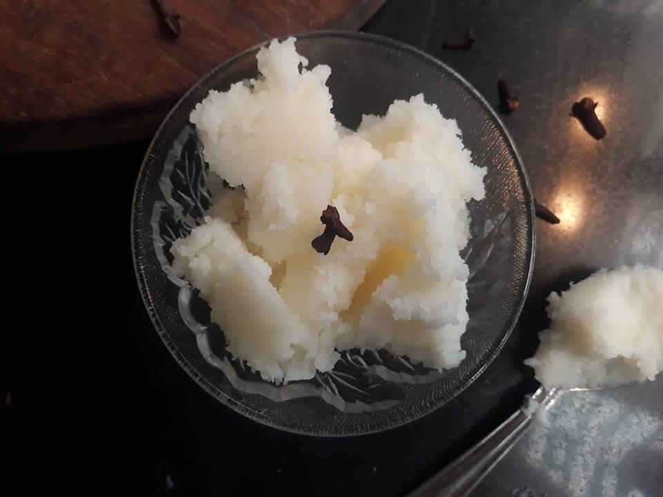 Homemade ghee / clarified butter