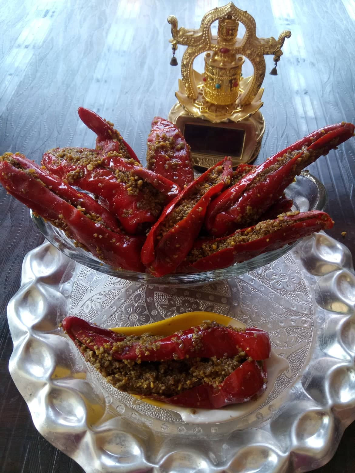 Red Chilli Stuffed Pickle