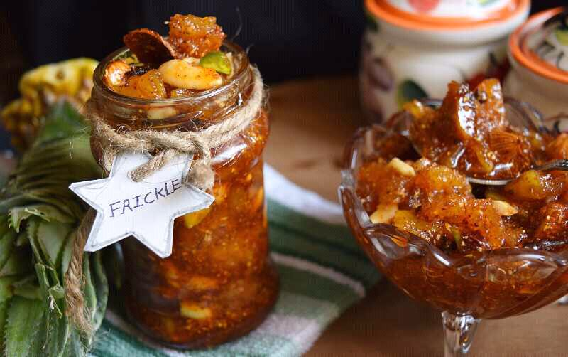 Frickle ( Fruit And Dry Fruit Pickle)