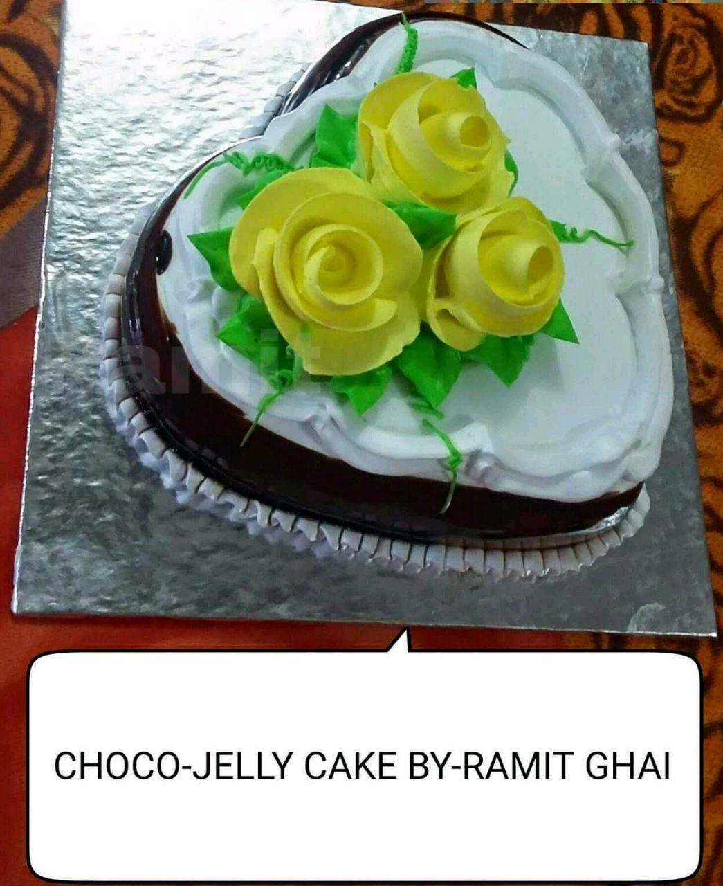 ChocoJelly Cake