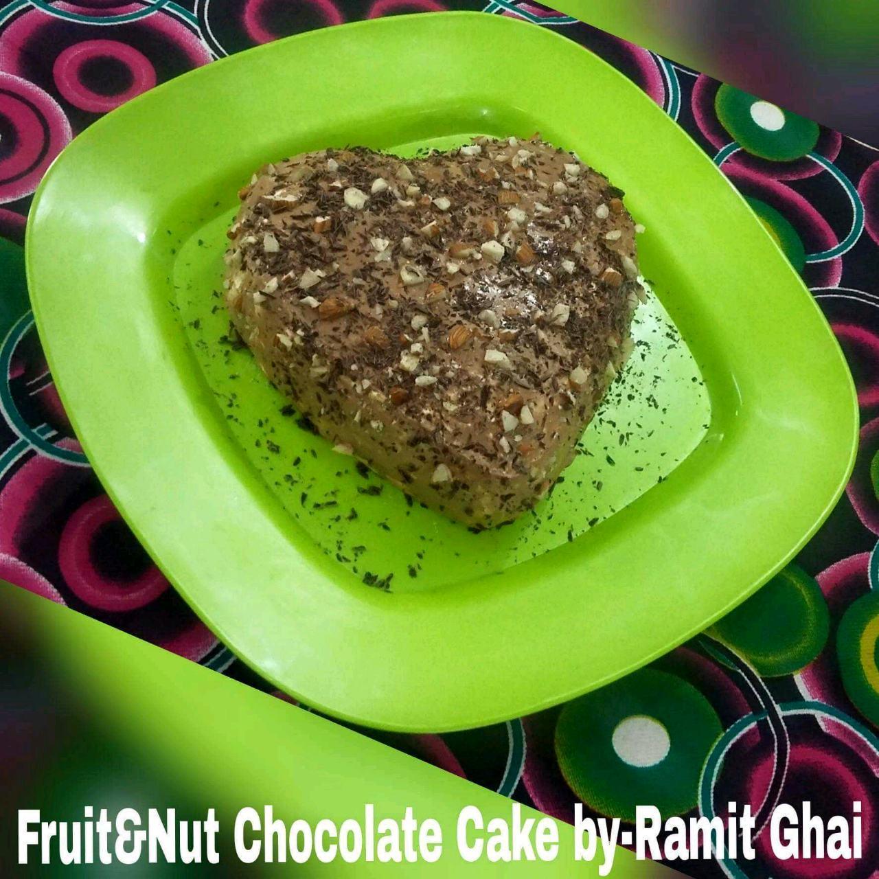 Fruit&Nut Chocolate Cake