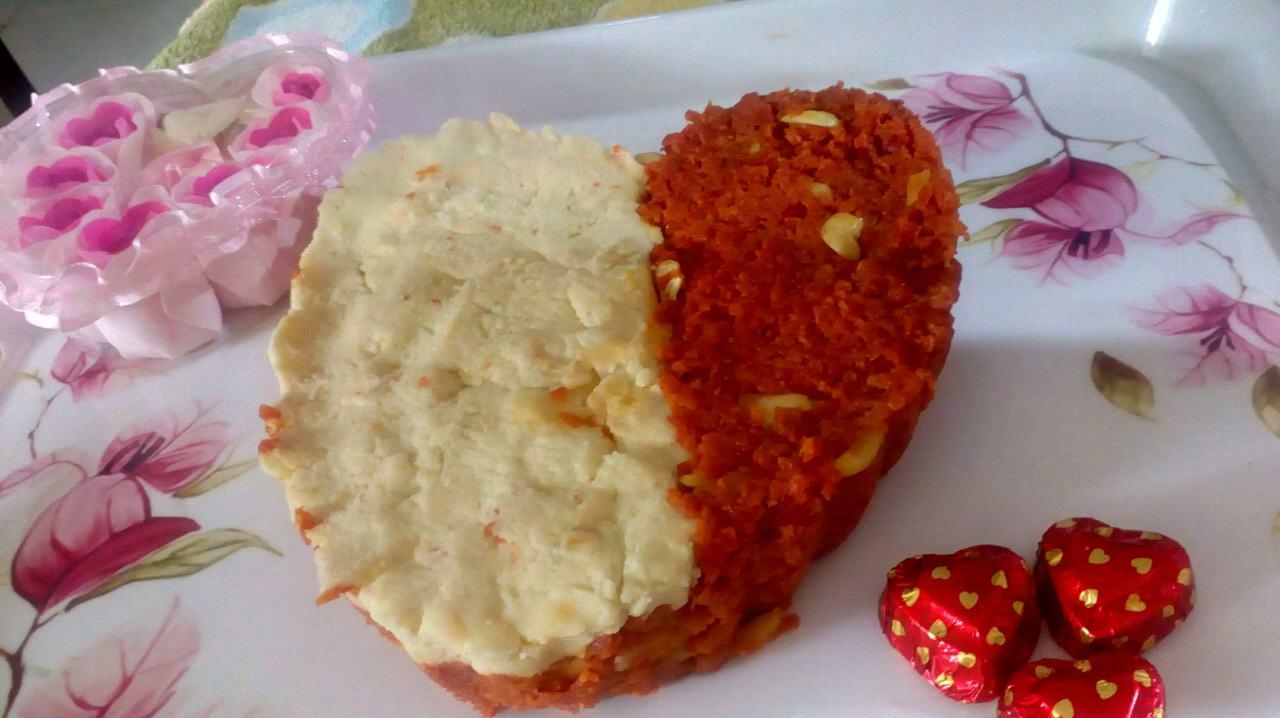 Gajrela Cake