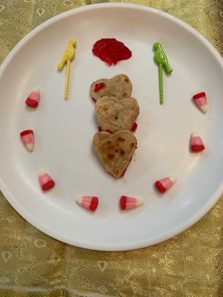 Heart Jam paratha