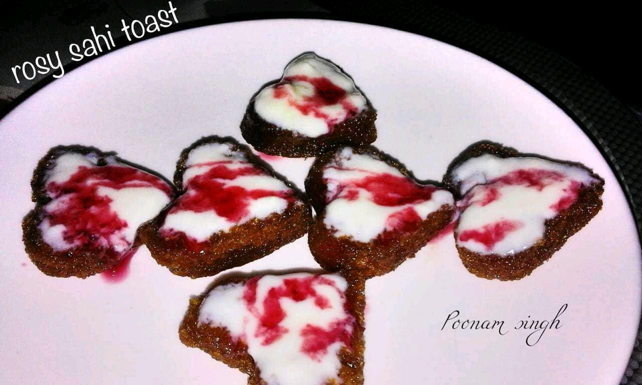 Rosy Sahi Toast