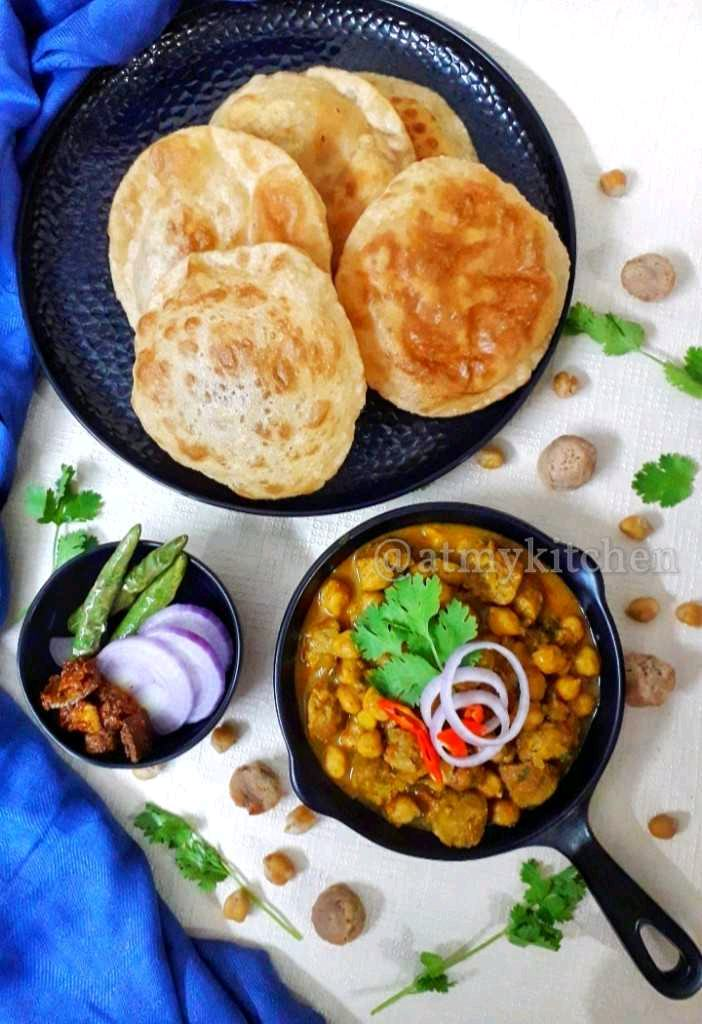 Chickpea Soya Curry