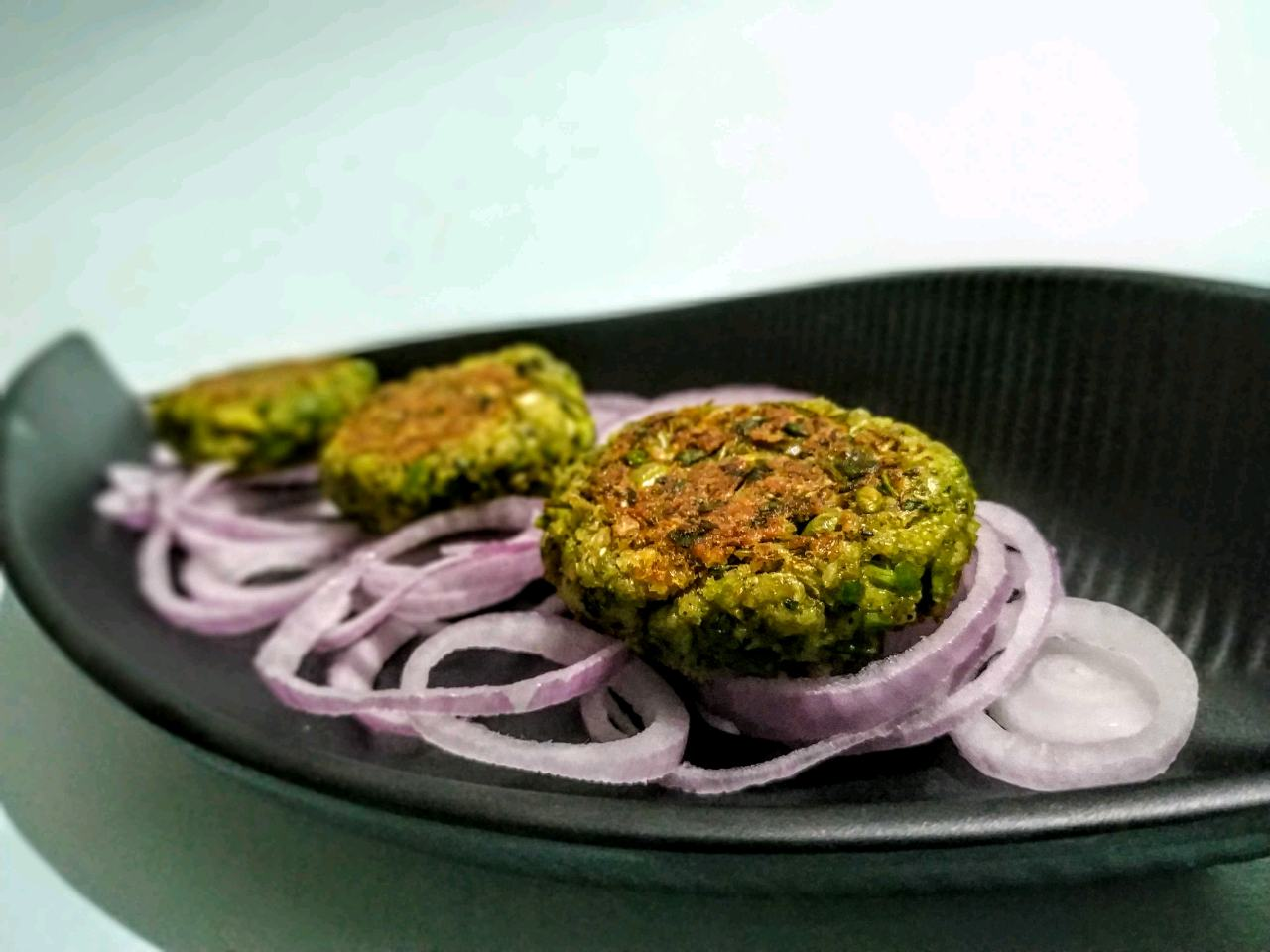 Broccoli Paneer Palak Kabab