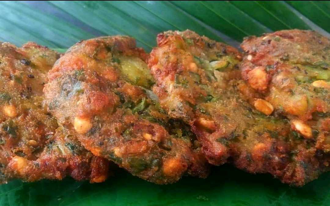 Corn Bhaji Vada