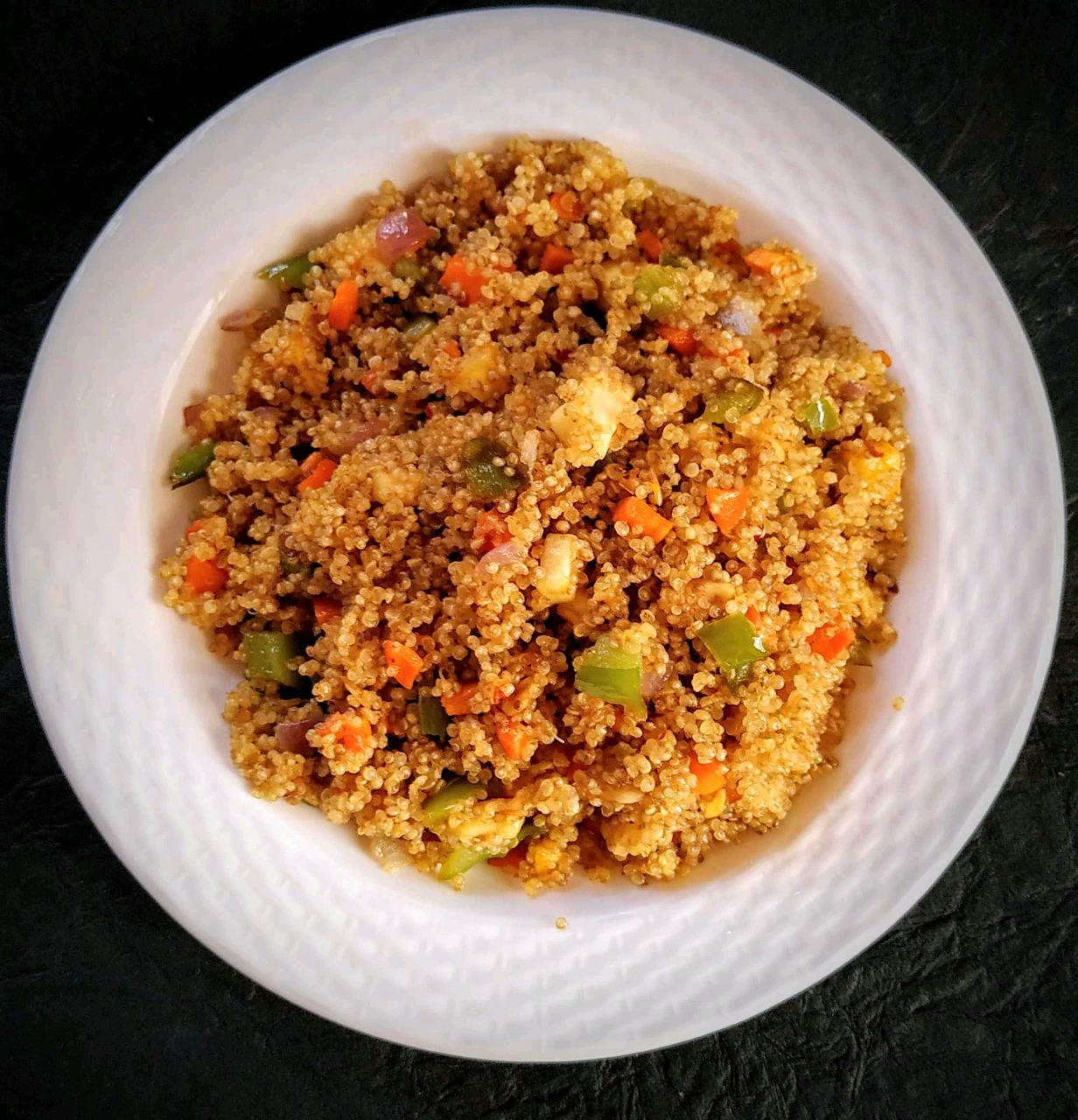 Schezwan Fried Quinoa