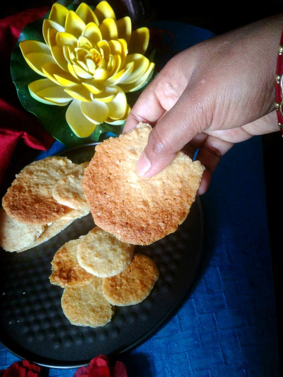 Oats Coconut Biscuit #oldrecipes#wildcard#luck#winchance#topcontributor#surprises