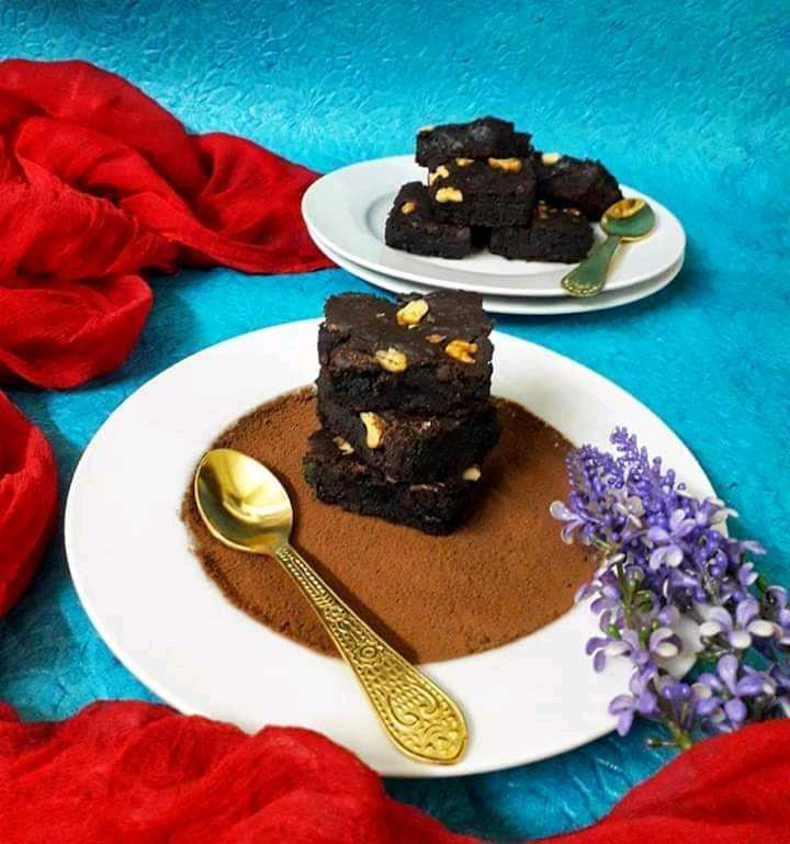 Rajma Brownies / Kidney Beans Brownies
