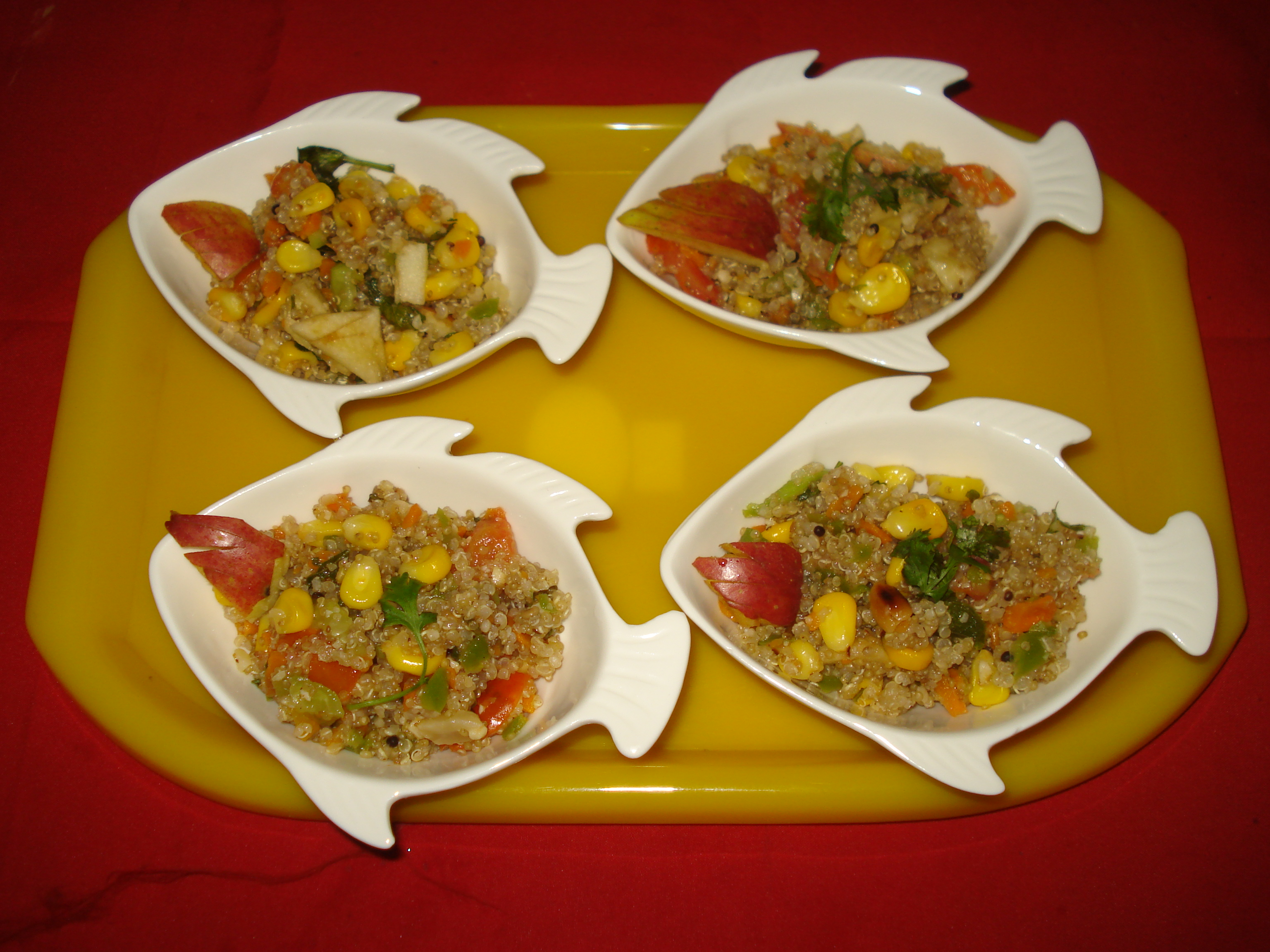 Quinoa upma #smashing protein recipe