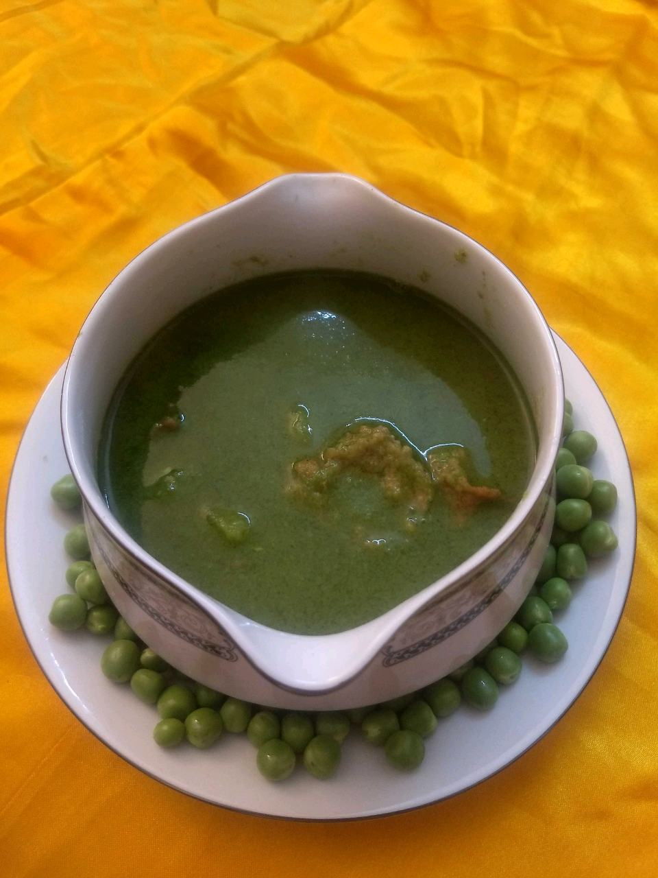 Peas Curry Without regular Spices