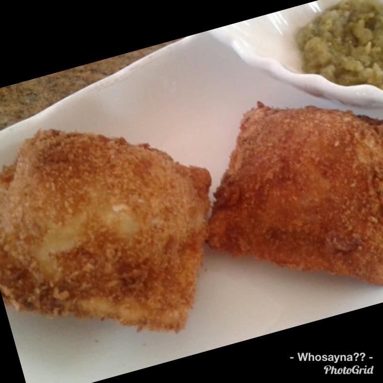 Whosayna's Fried Ravioli