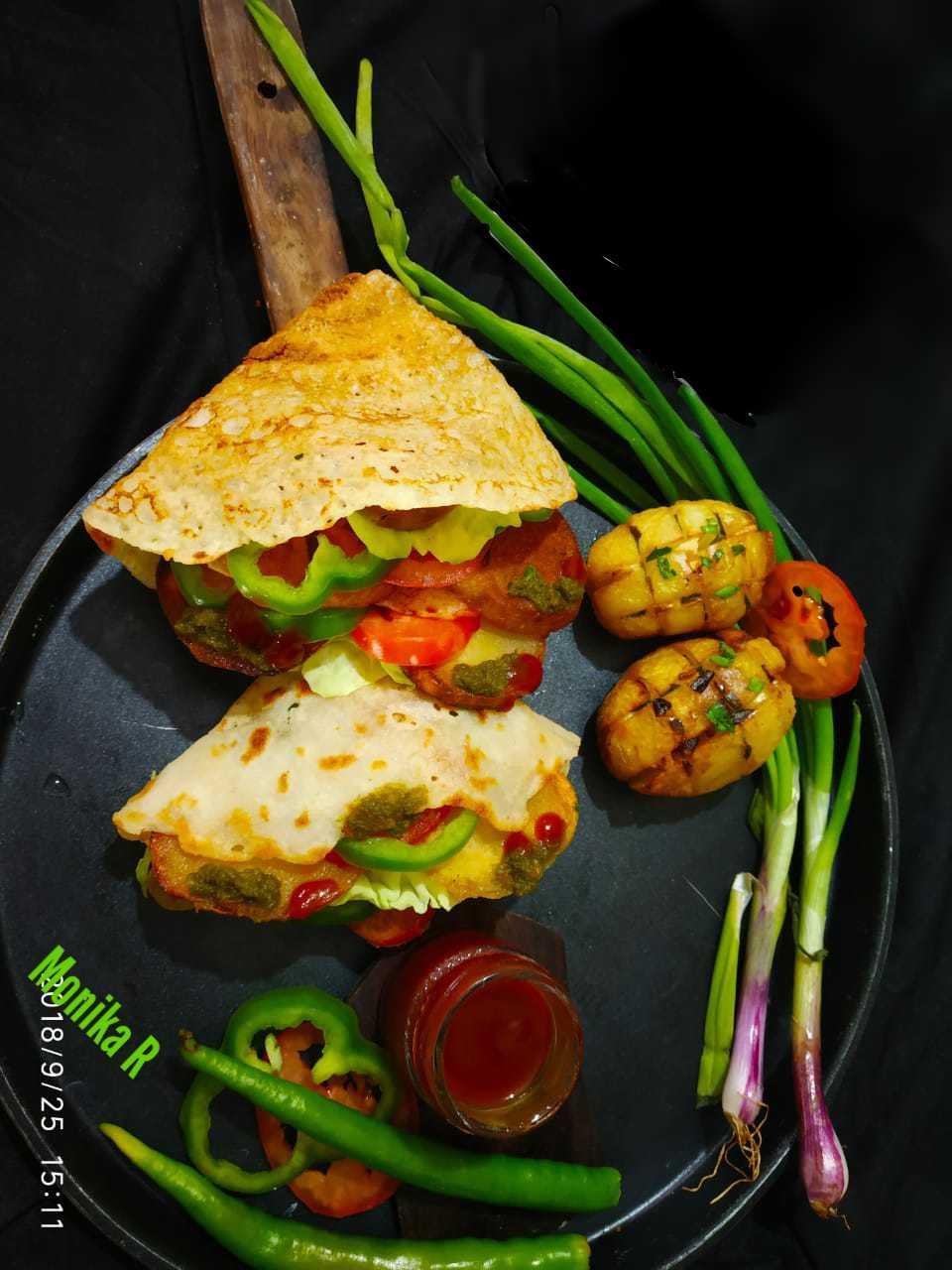 Veggie Loaded Quesadilla (mexican wrap)