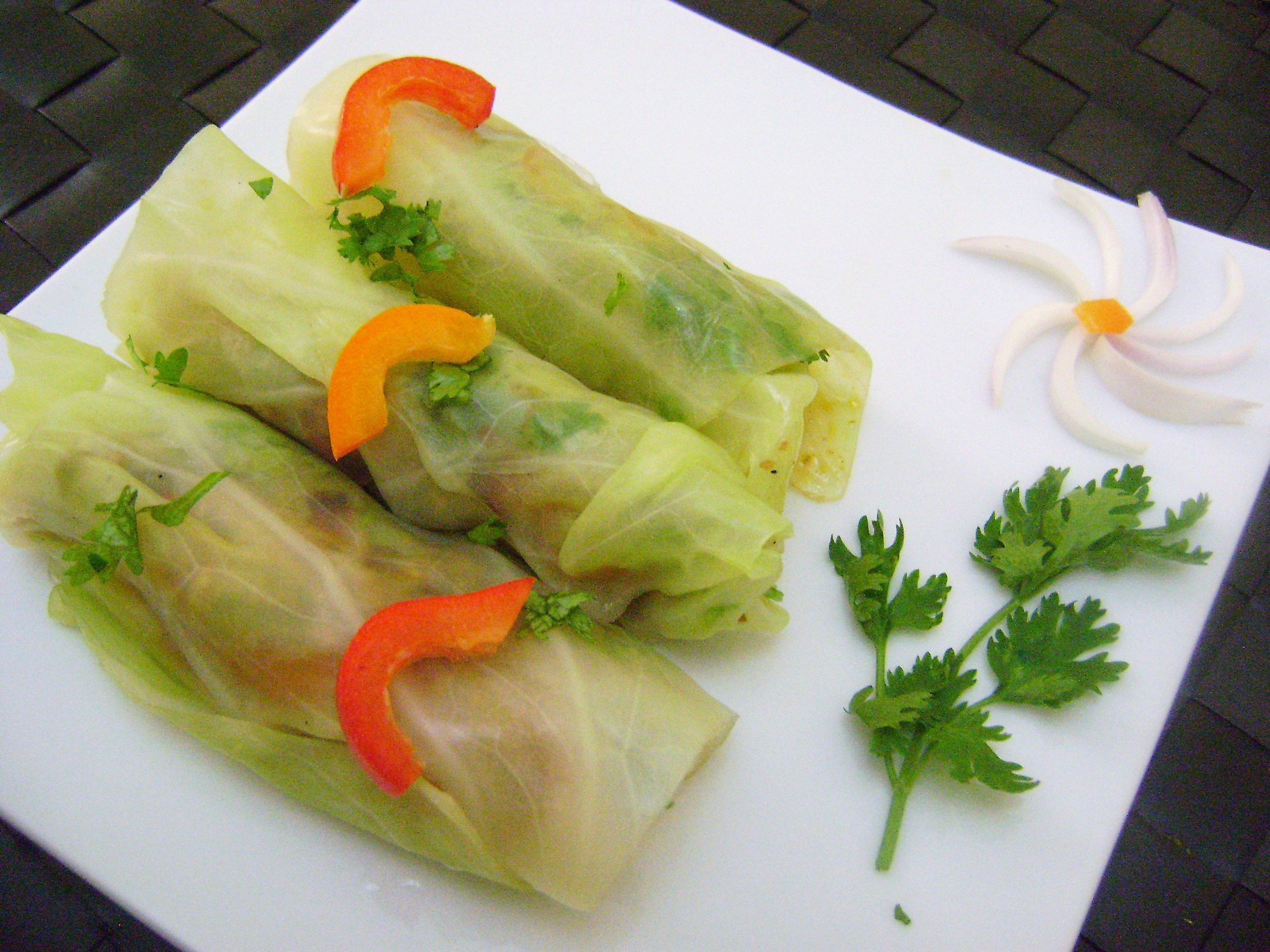 Cabbage Spring Roll