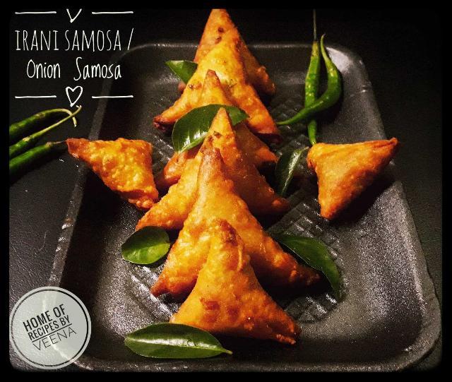 Onion Samosa / Irani Samosa