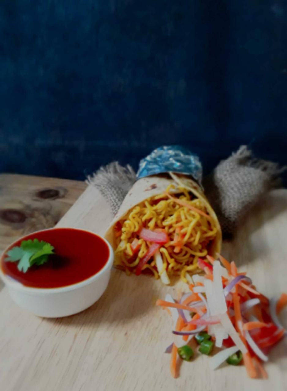 Maggi Noodle Frankie