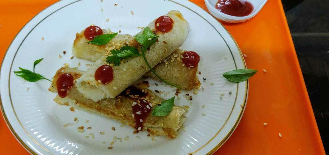 Bread Sesame Roll