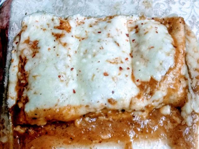 Veg Enchiladas