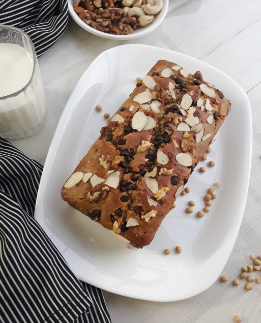 Vegan Soya Flour Cake