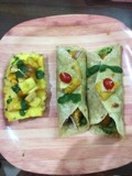 Guvava Pineapple sweet sour  and spicy wrap