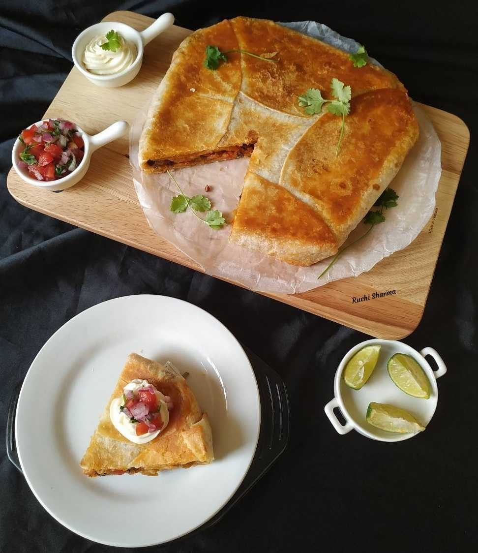 Sheet Pan Quesadilla