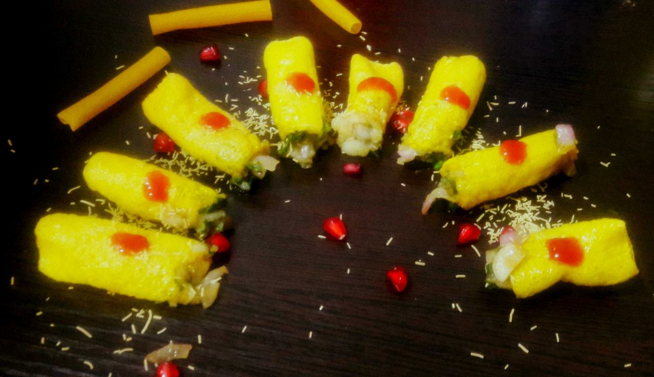 Fingers Fryums Roll Chat ( Nadda Roll Chat )