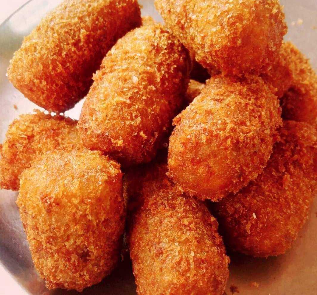 Potato Paneer Mini Roll