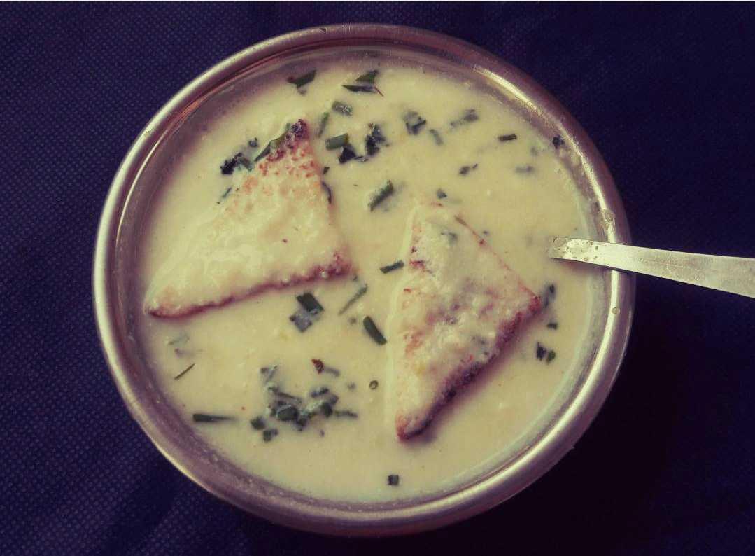 Milky Potato Soup