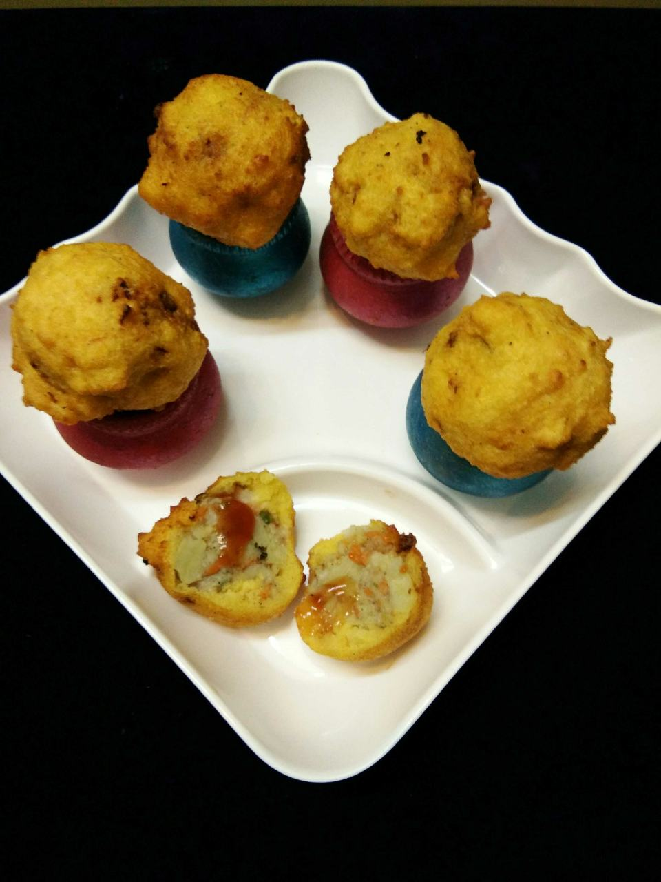 Potato Moong Bonda