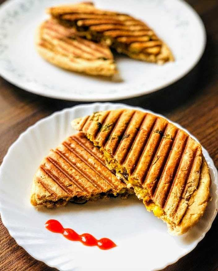 Kulcha Sandwich