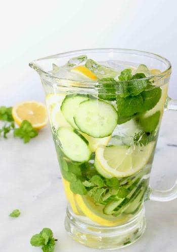 Cucumber Lemon Detox Cooler