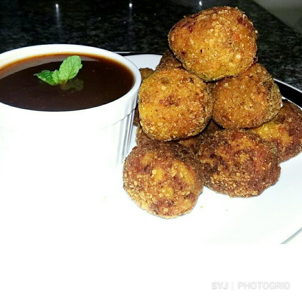 Yam Potato Balls