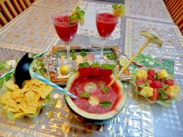 Mother's Day Watermelon pineapple Punch
