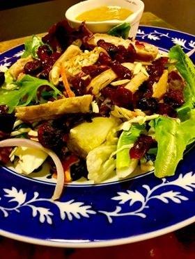 Asian Sesame Salad with Homemade Vinaigrette/Dressing