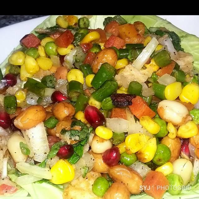 Peanut Veggie Salad