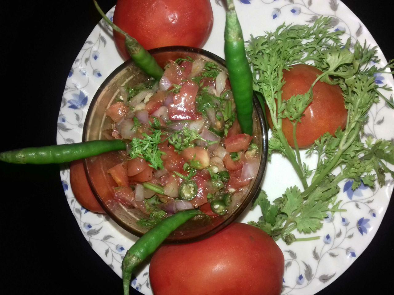 Tomato salsa Salad
