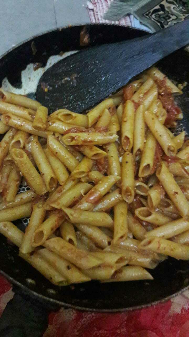 Tomato Pasta (Indian Style)