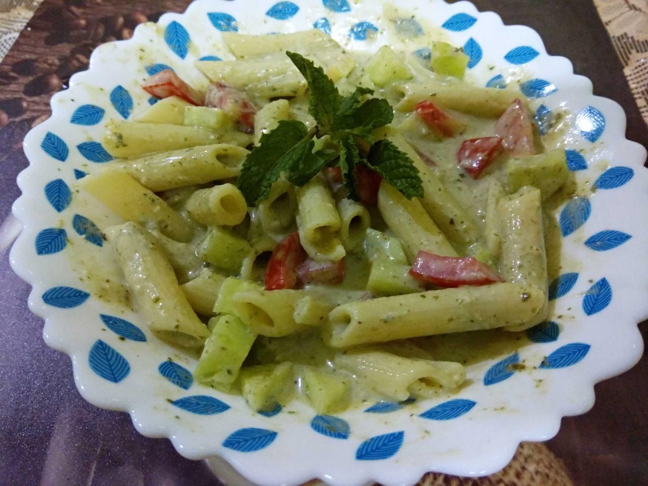 Minty Pasta Salad