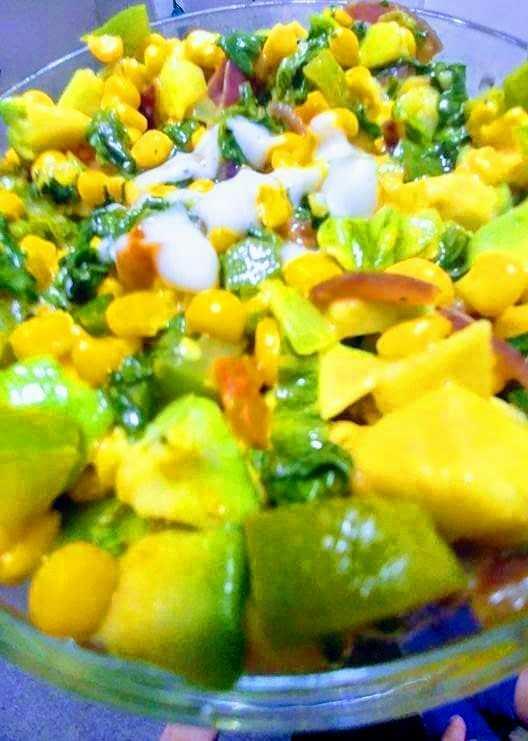 Corn Veggies salad