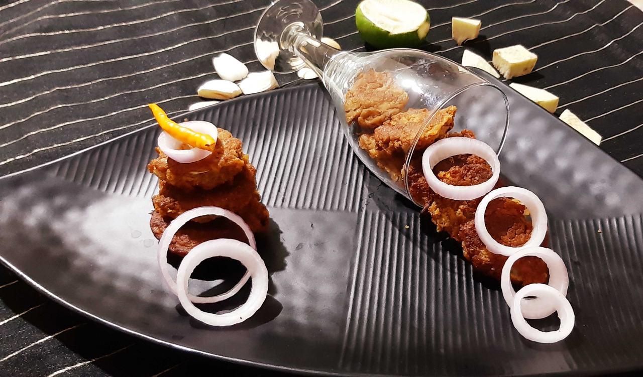 Kathal Ke Shaami Kabab/ Crisp deep fried Jackfruit Cutlets