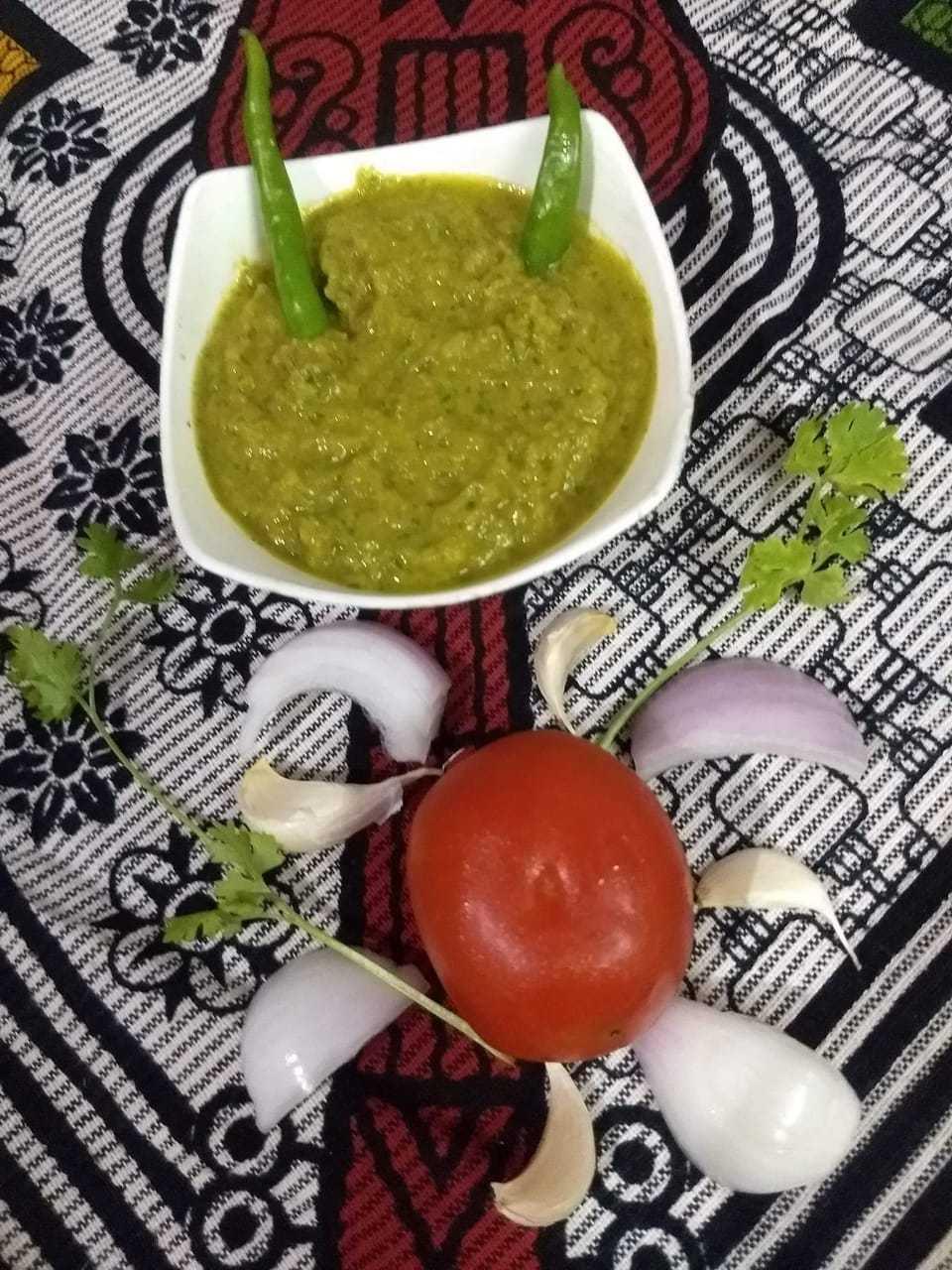Tomato Onion Garlic Dip