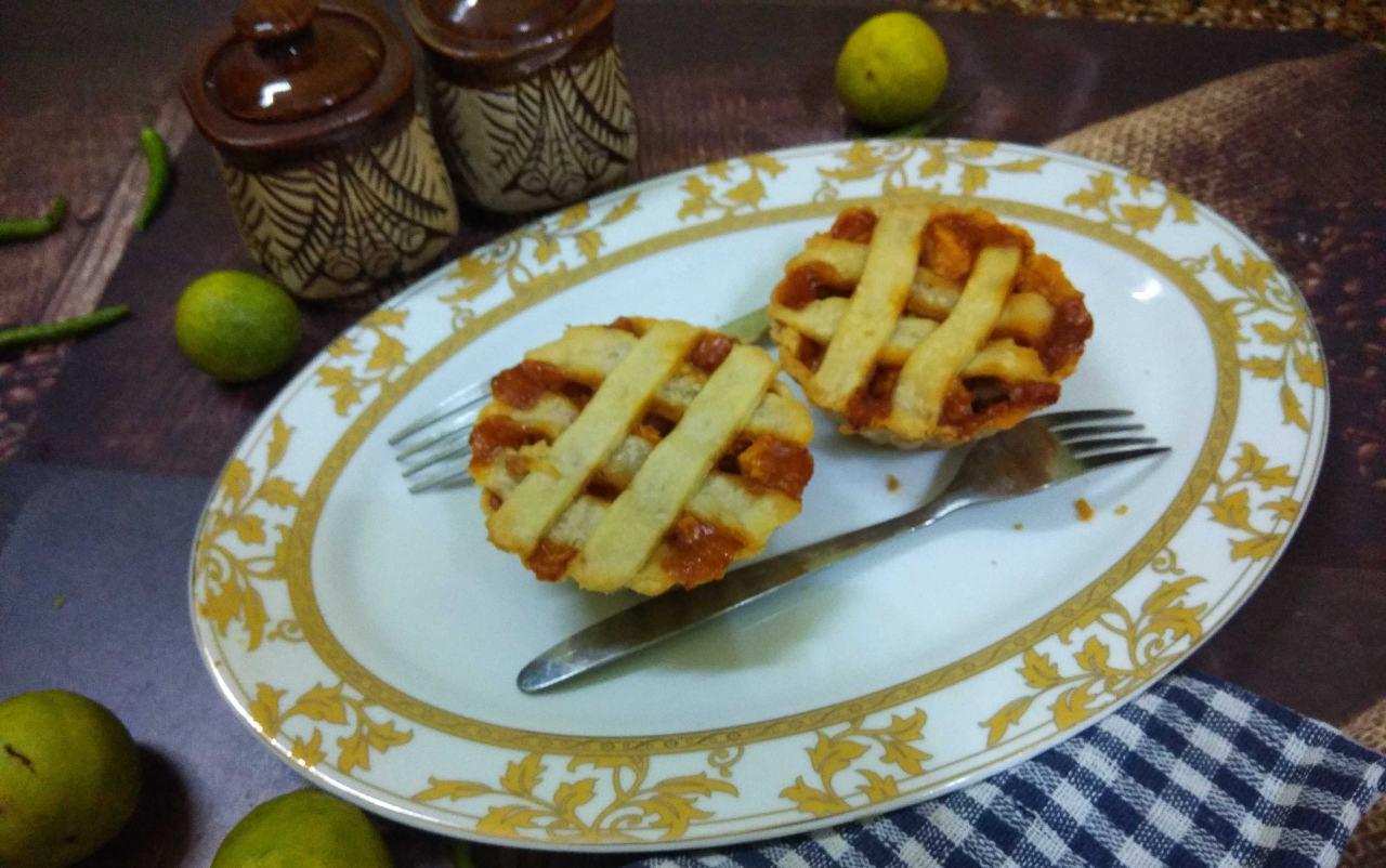 Honey Chilli Paneer In Tart