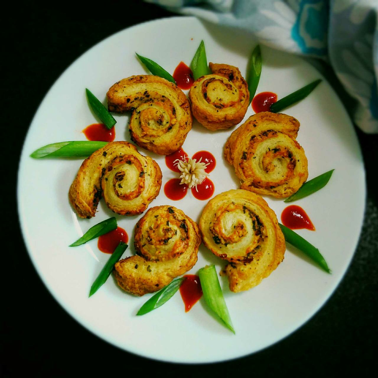 Garlic Herbed Pinwheels