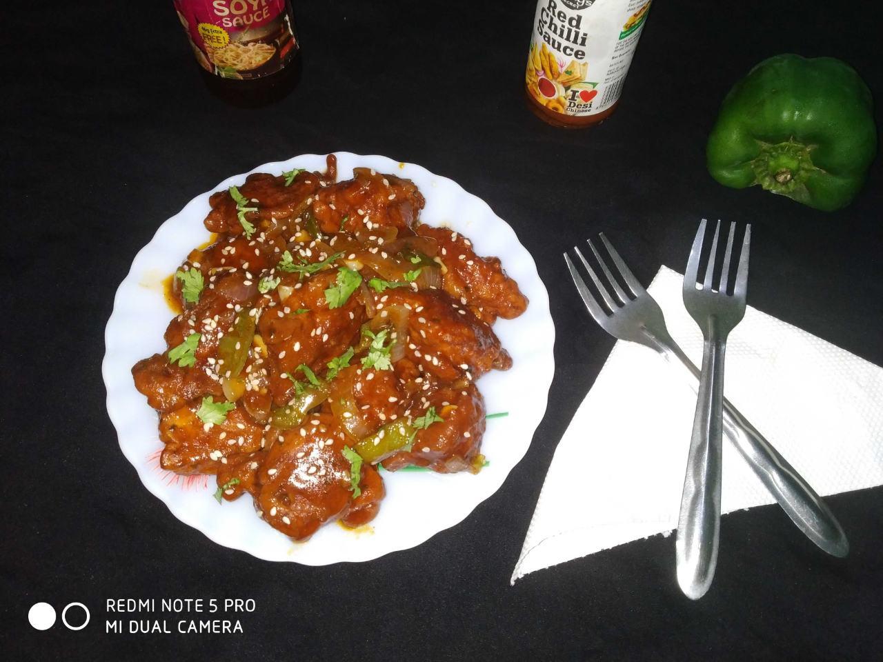 Chicken chilli 🍗🍗
