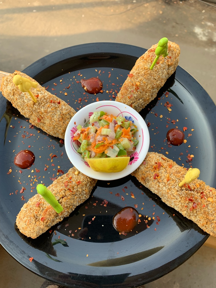 Soya green sprouts kabab