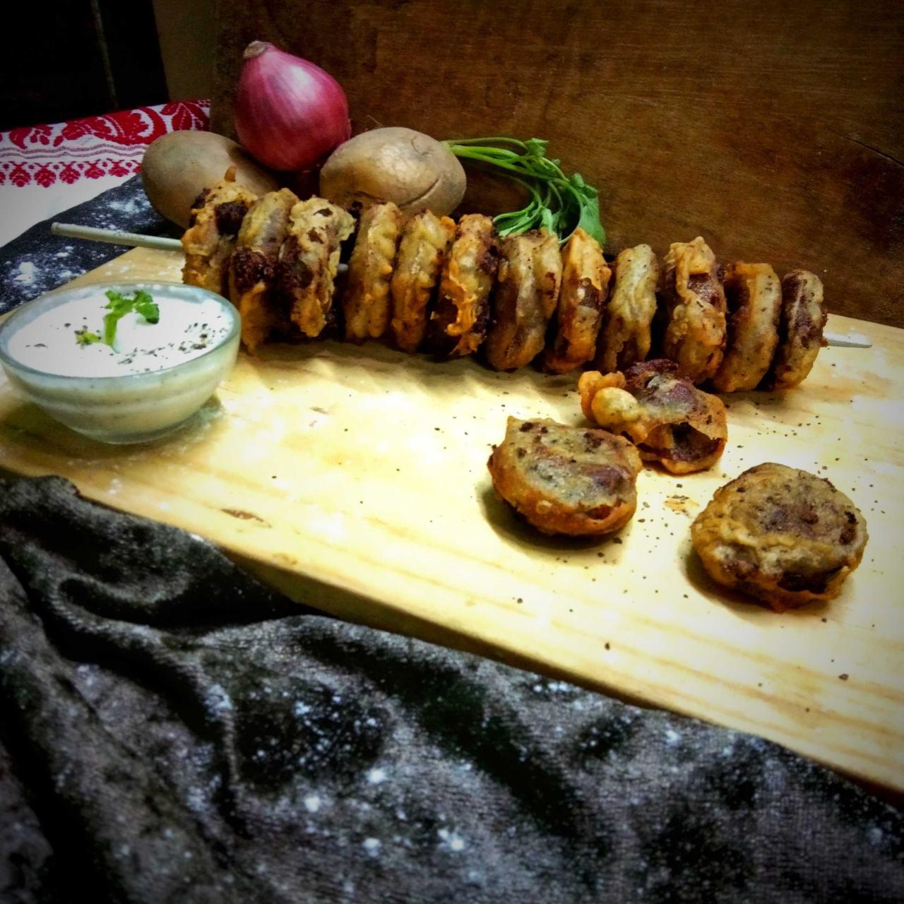 Onion Potato Ring