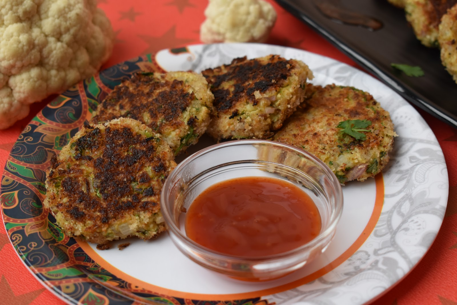 Cauliflower Patty