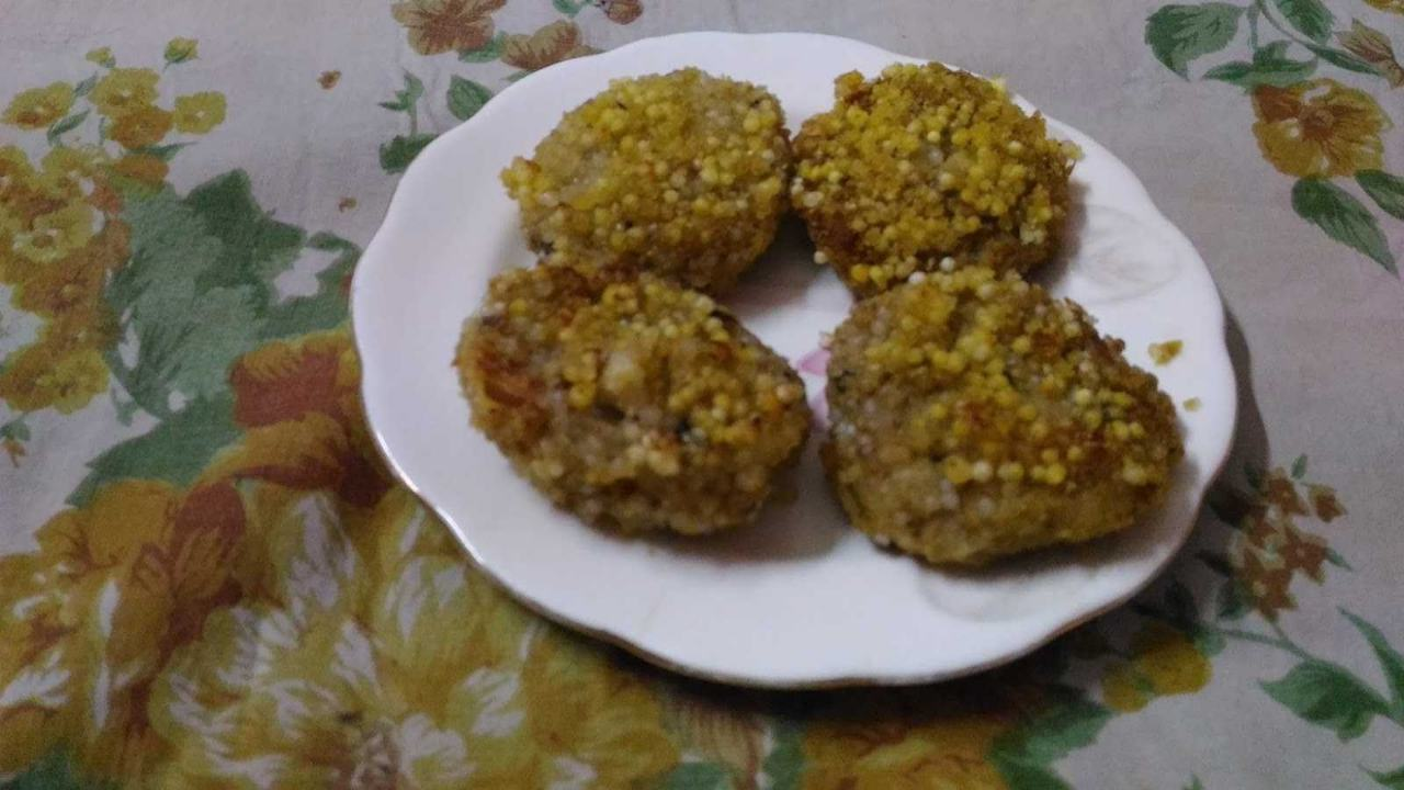 Murmura And Sabudana Cutlet